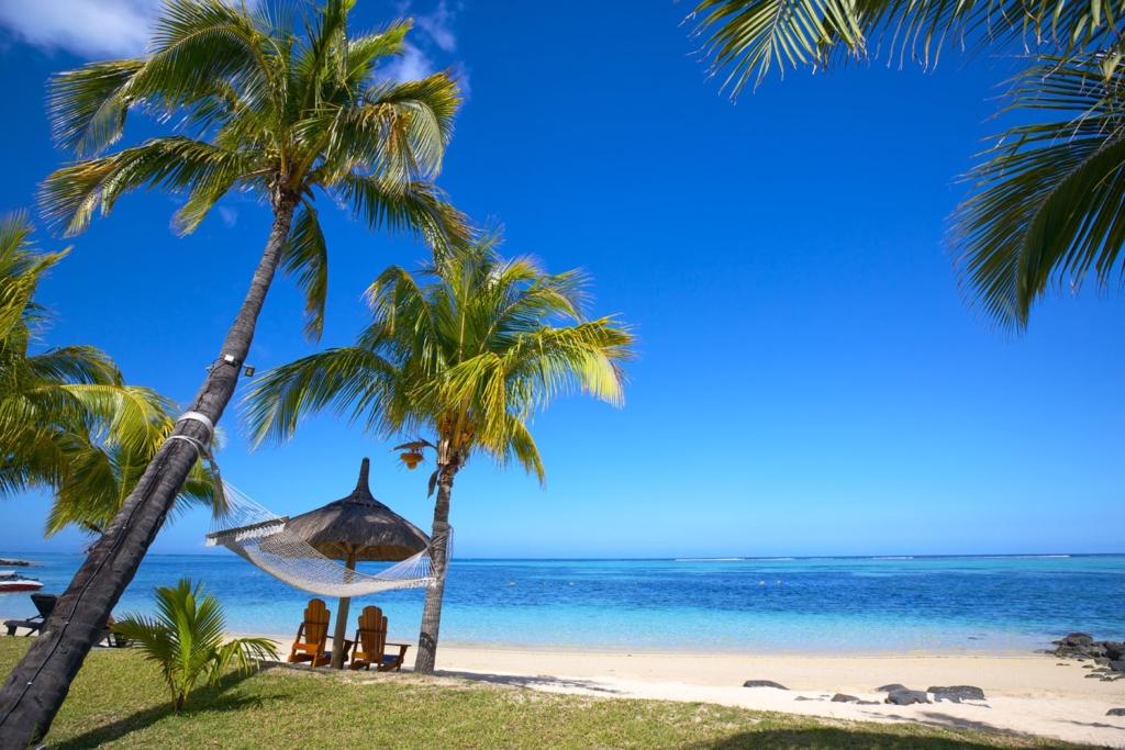 Uitzicht Mauritius, strand, zon, vakantie, tropisch, huwelijksreis - Dit zijn de mooiste huwelijksreisbestemmingen in Afrika