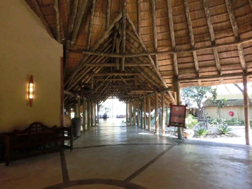 Chobe Safari Lodge - Receptie