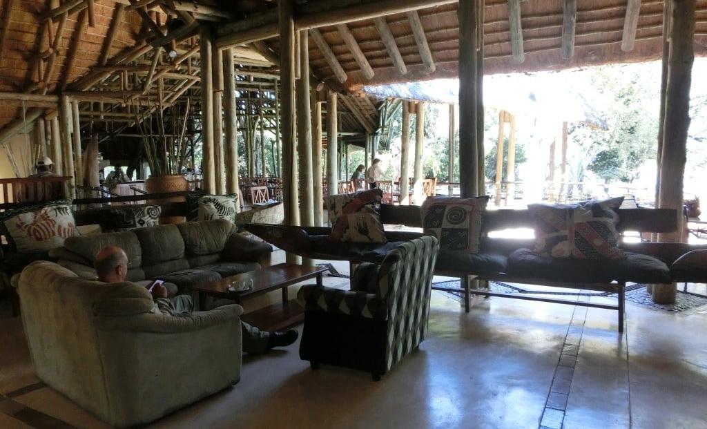 Chobe Safari Lodge - Lounge