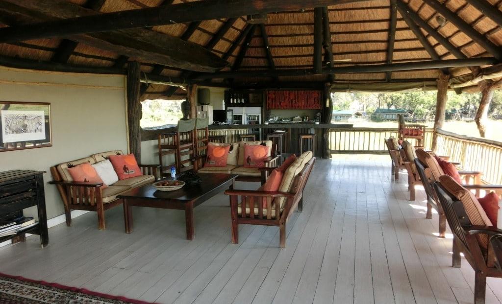 Gunns Camp - Lounge en bar