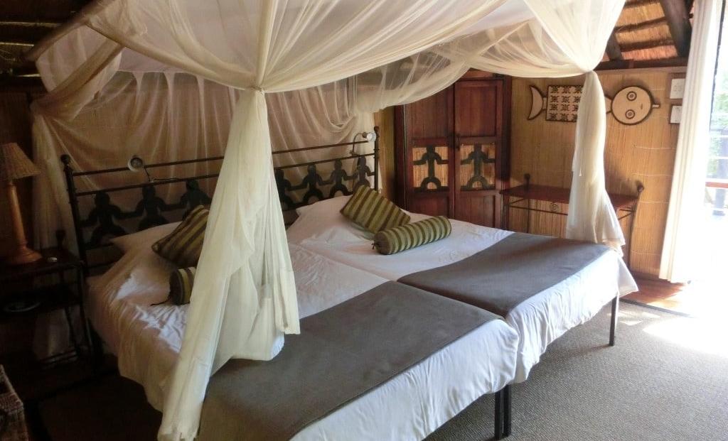 Kubu Lodge - Slaapkamer