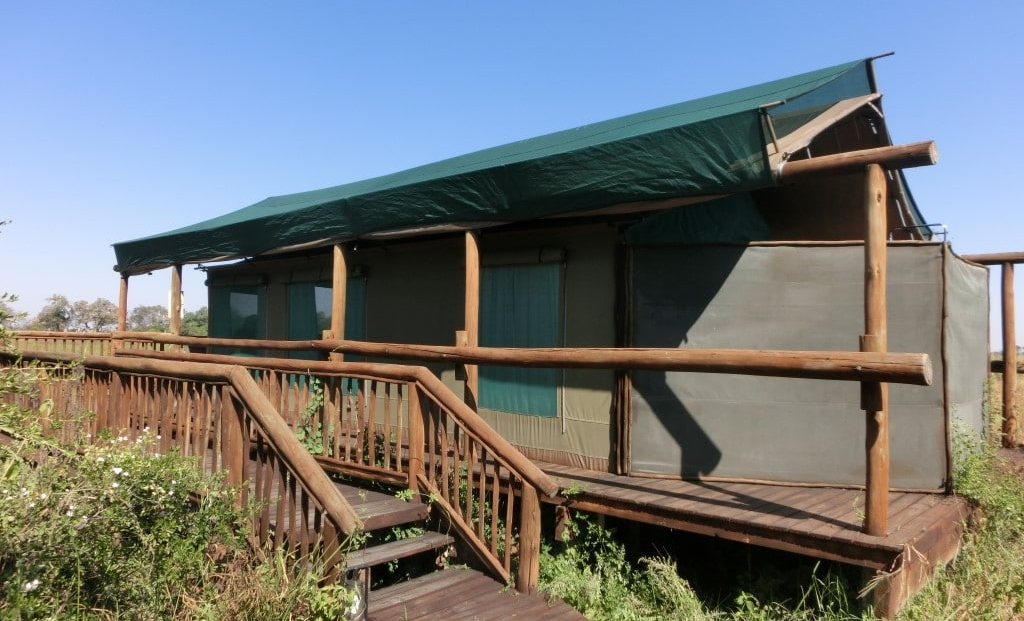 Moremi Crossing - En-suite safari tent