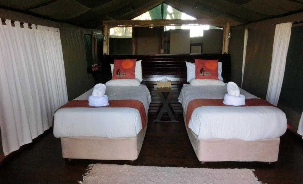Moremi Crossing - Ruime en-suite safari tenten