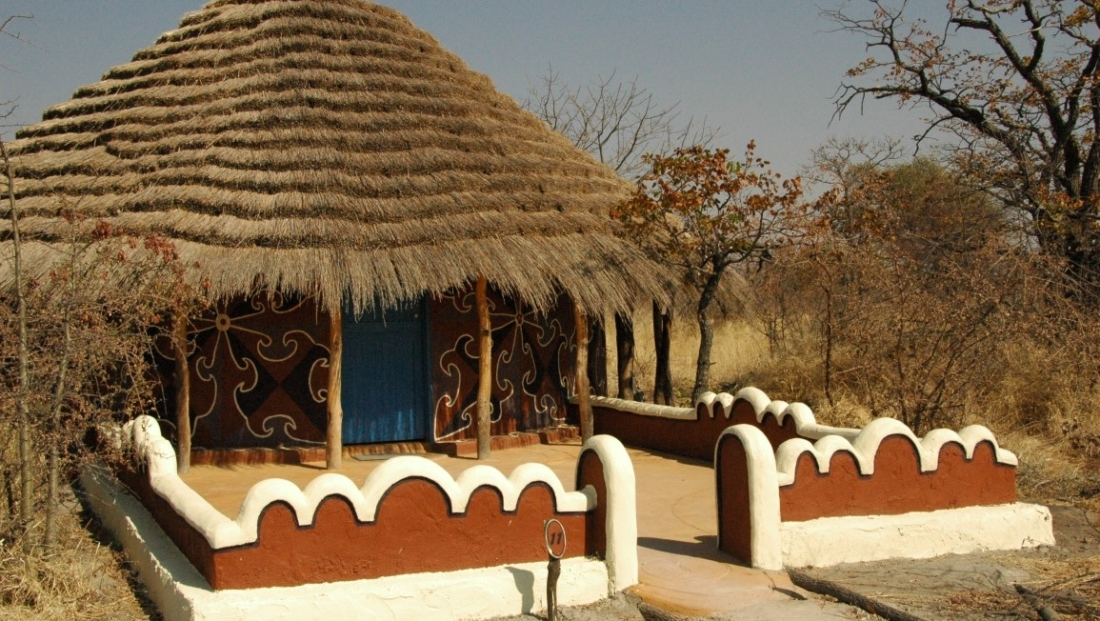 Planet Baobab - Traditionele hutten als slaapkamers