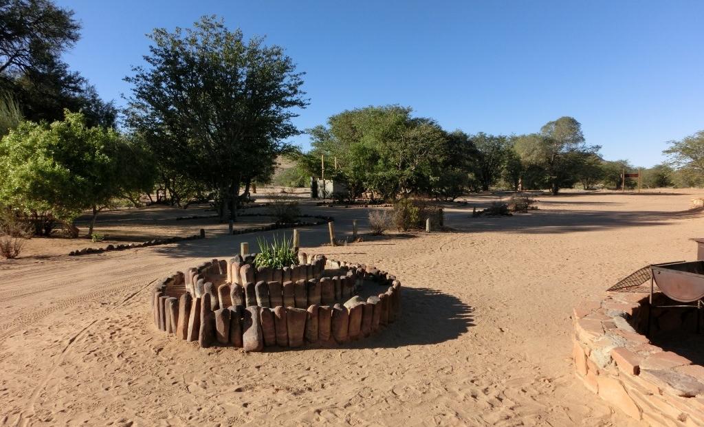Aba Huab Campsite - Entree