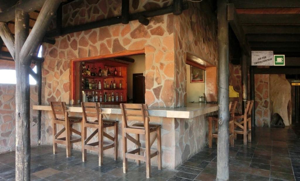 Aba Huab Campsite - Bar