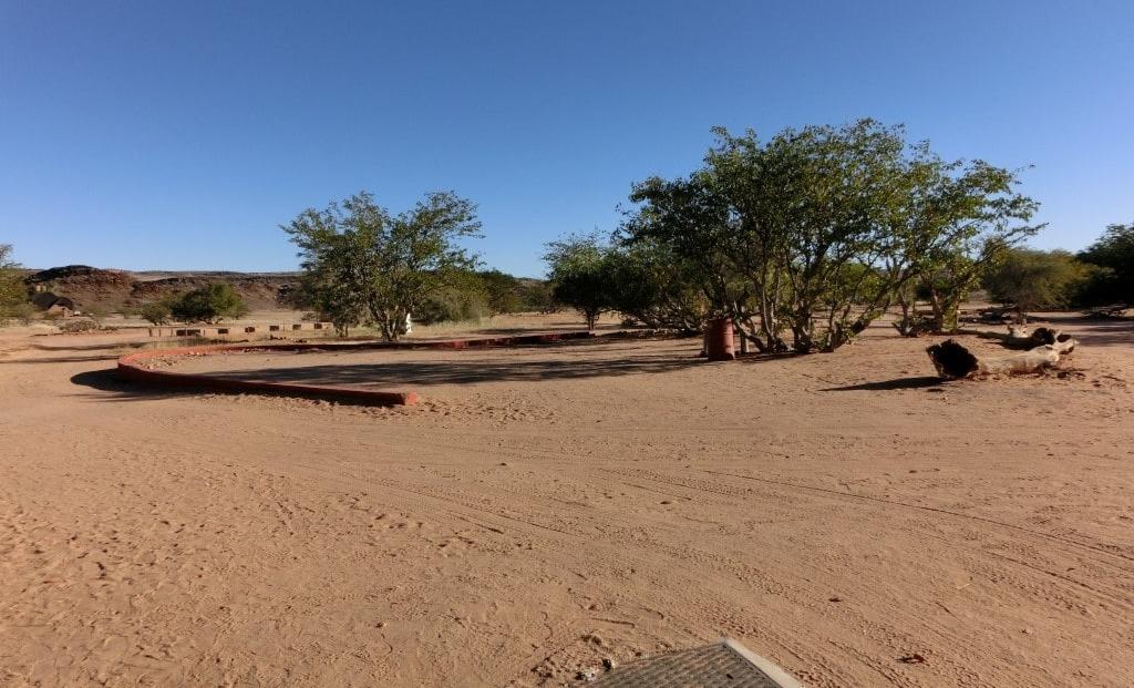 Aba Huab Campsite - Open kampeerterrein