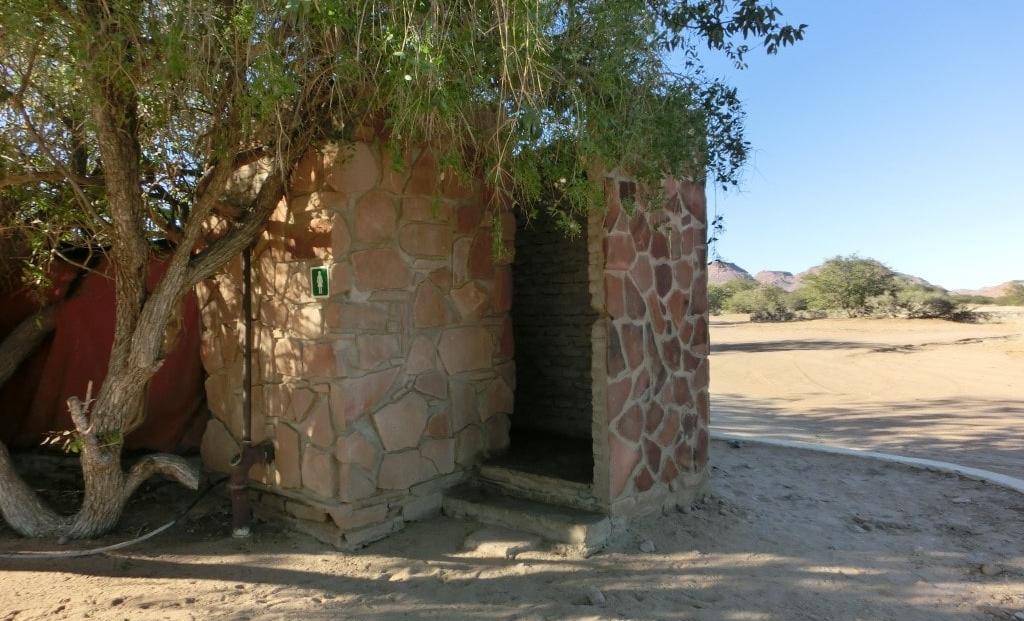 Aba Huab Campsite - Doucheblok