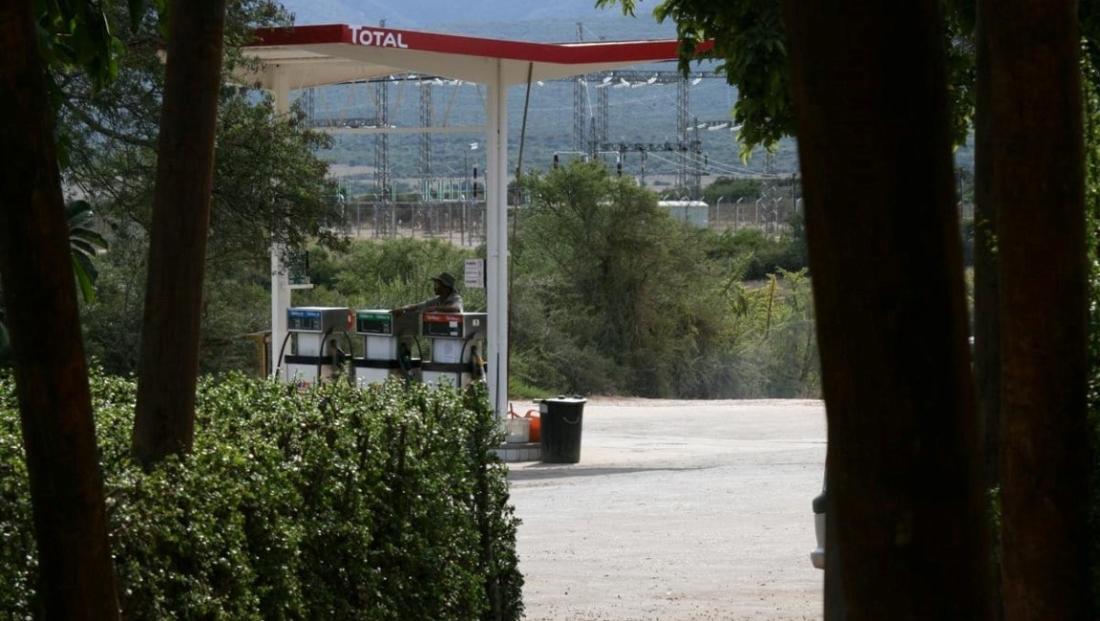 Addo Elephant NP - benzinepomp