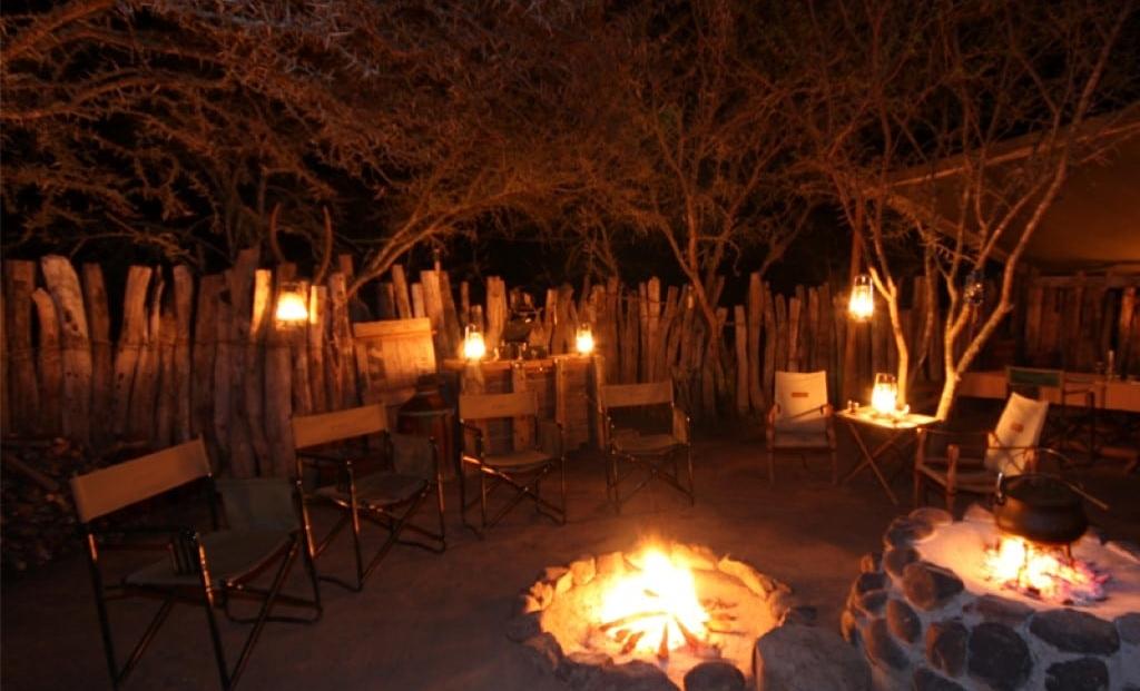 Amakhala Quartermains Camp - boma