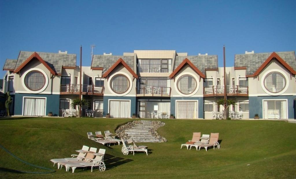 Beach Lodge - Tuin met kamers