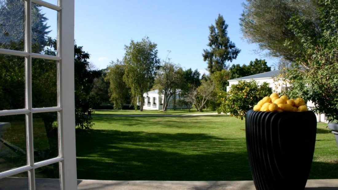 Bloomestate - uitzicht op tuin