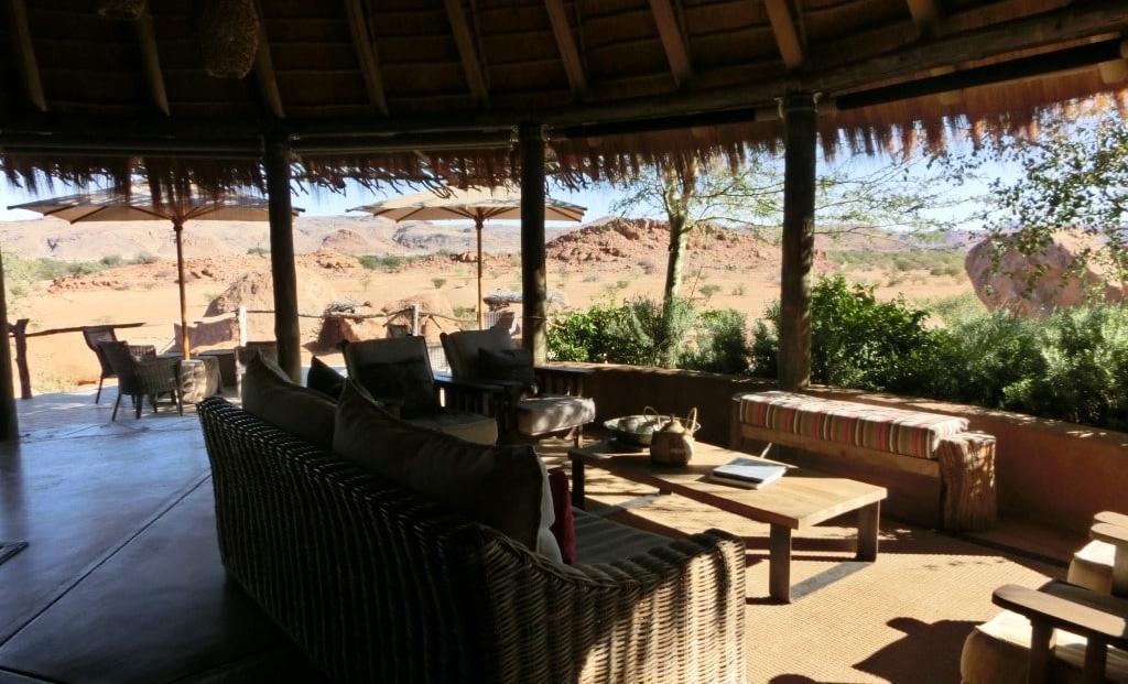 Camp Kipwe - Lounge met uitzicht