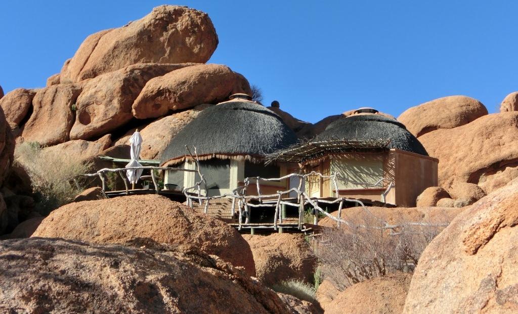 Camp Kipwe - Slaapkamer in de rotsen