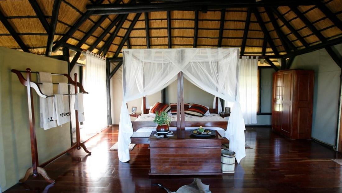 Camp Kwando - Ruime slaapkamer
