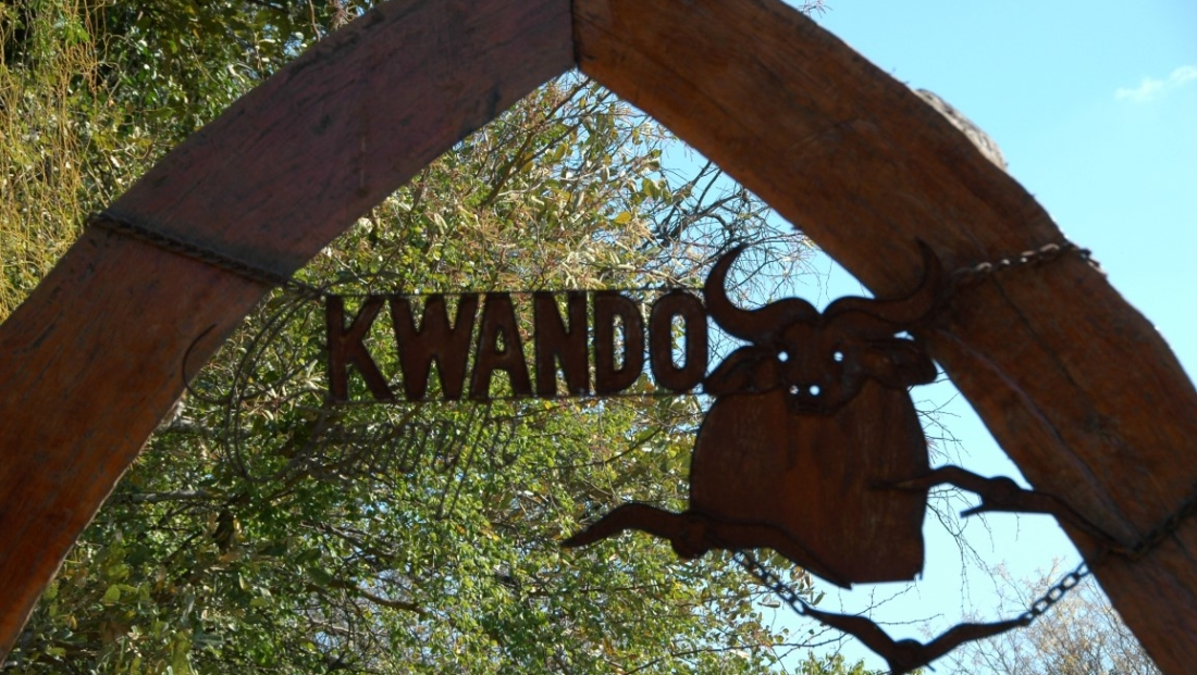 Camp Kwando - Entree bord