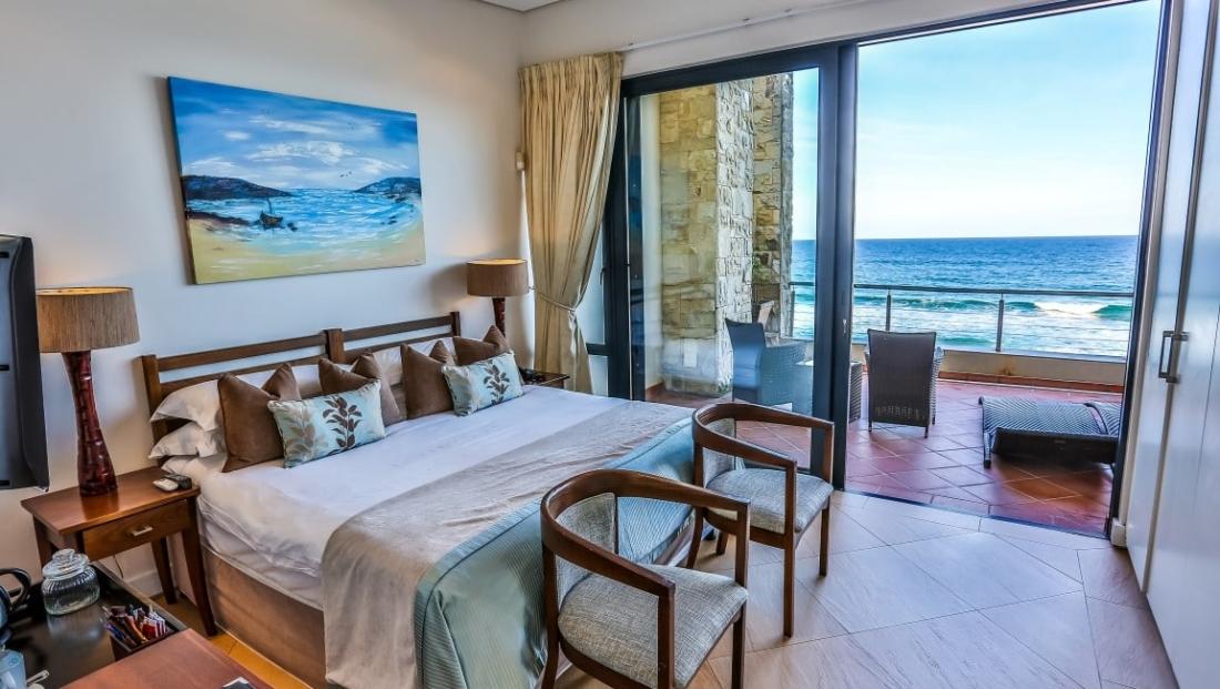 Canelands - slaapkamer met uitzicht op zee