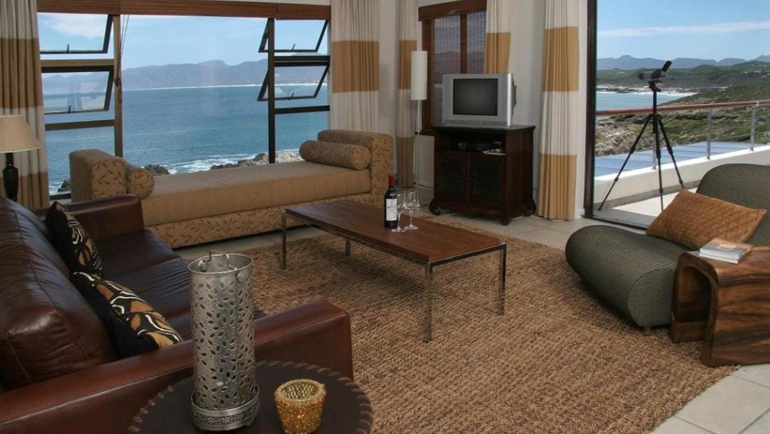 Cliff Lodge - kamer met prachtig uitzicht op zee