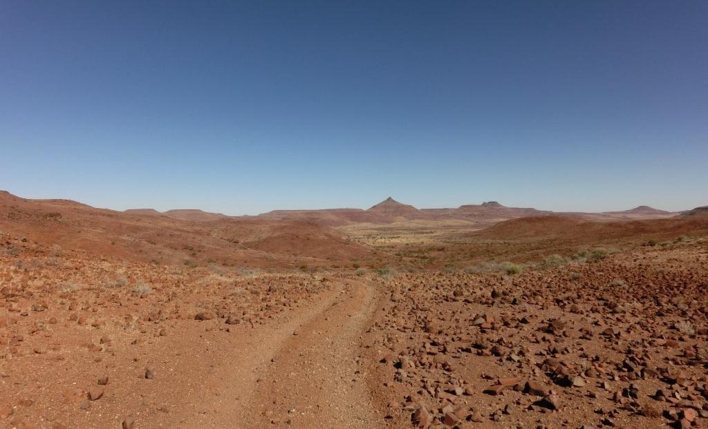 Damaraland - Pad dwars door de natuur