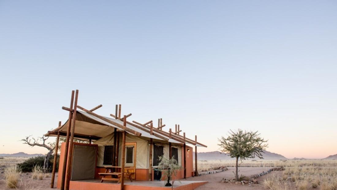 Desert Camp - En-suite safari tent midden in de natuur