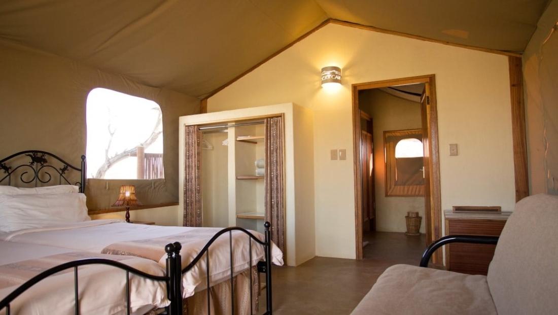 Desert Camp - En-suite slaapkamer