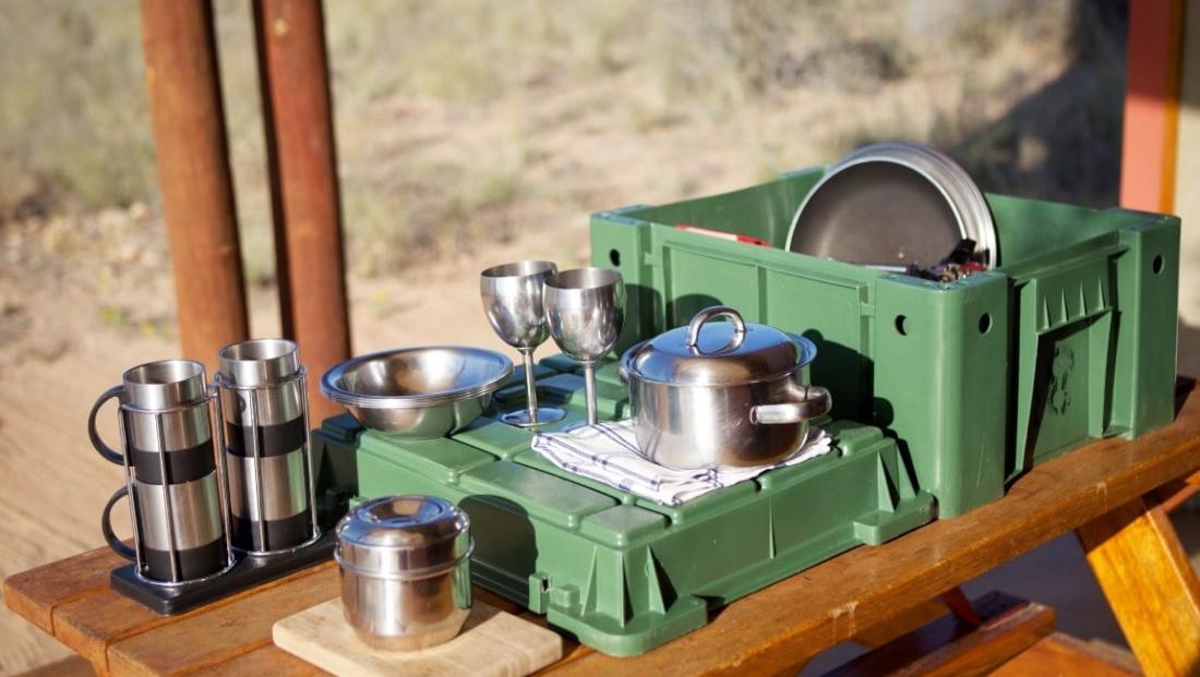 Desert Camp - Keukenspullen
