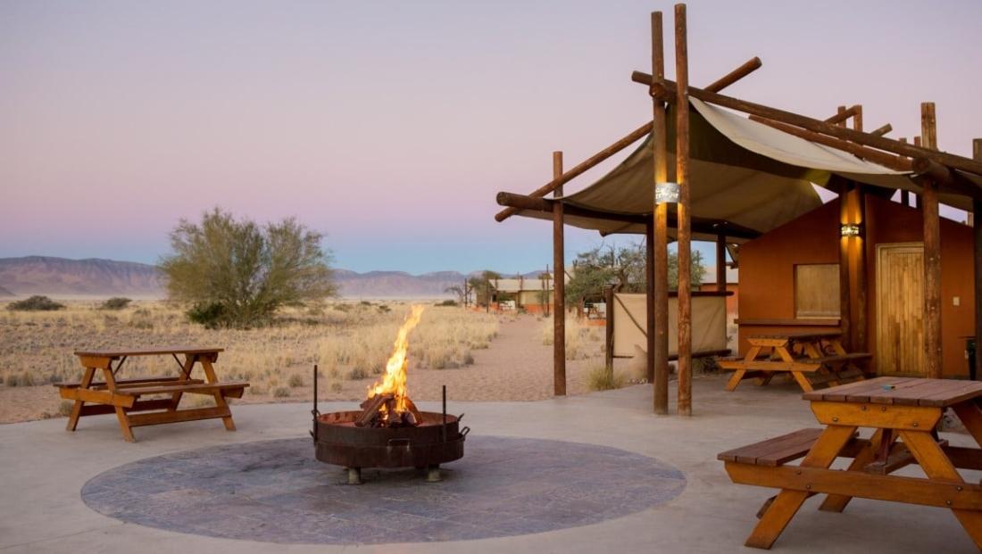 Desert Camp - Kampvuur