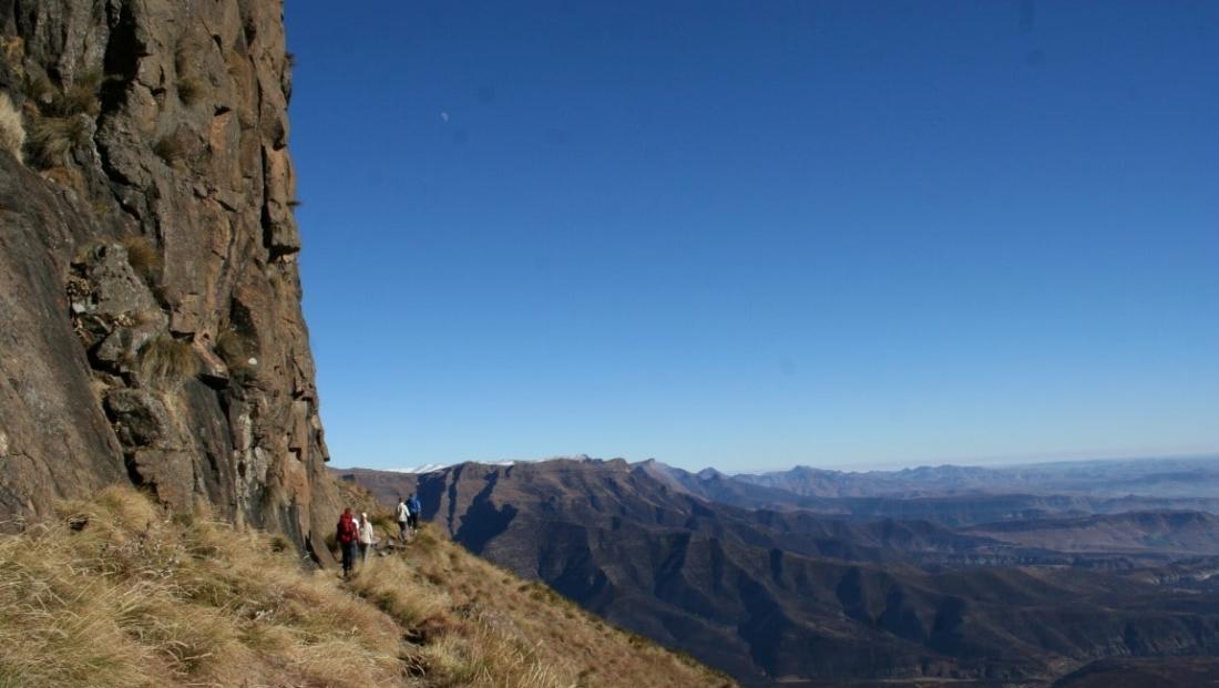 Drakensbergen - bergwandeling