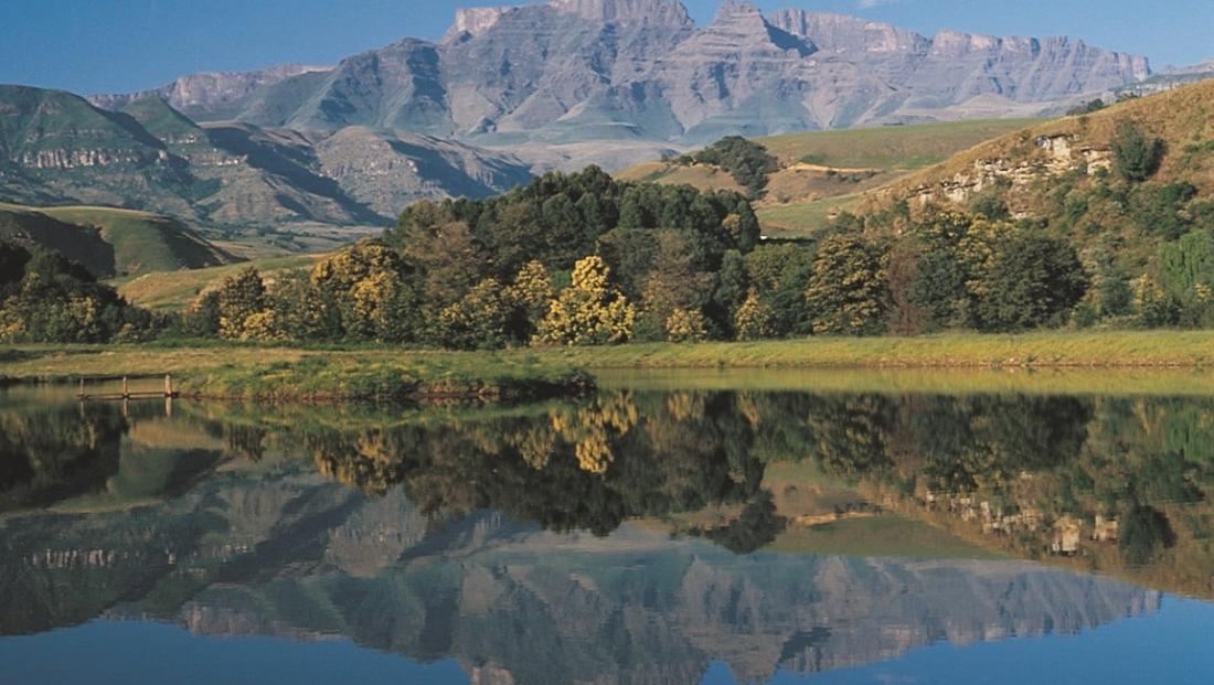 Drakensbergen - meer