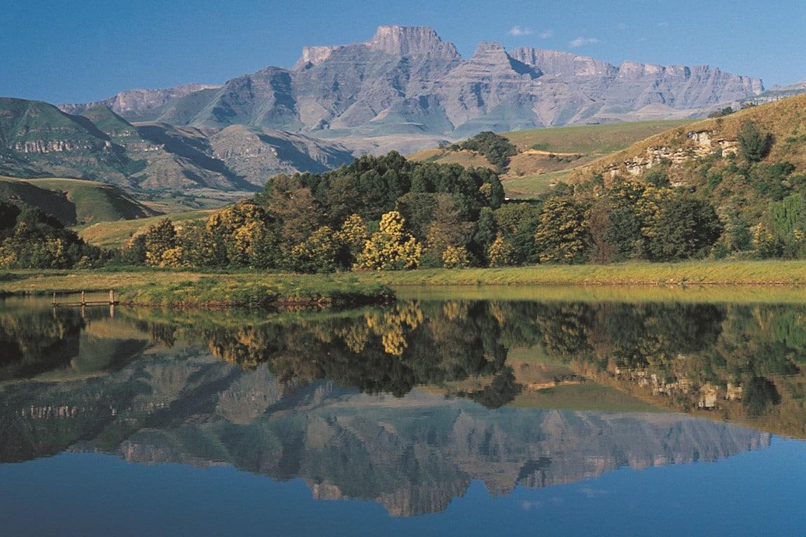 Rustige reizen Afrika - Meerdere dagen verblijven bij de Drakensbergen