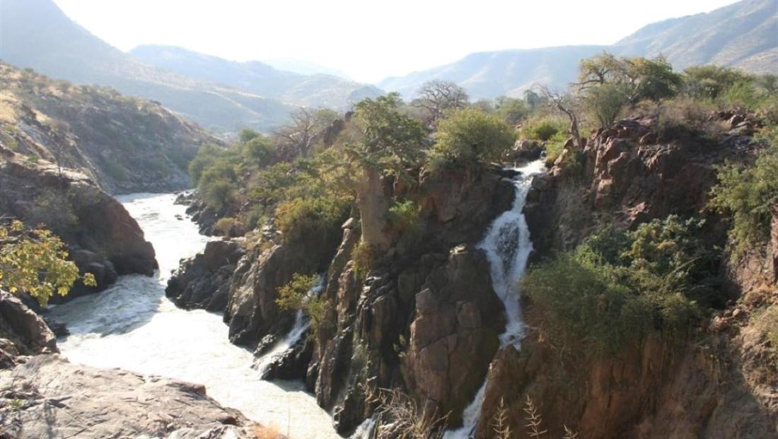 Epupa Camp - Epupa watervallen