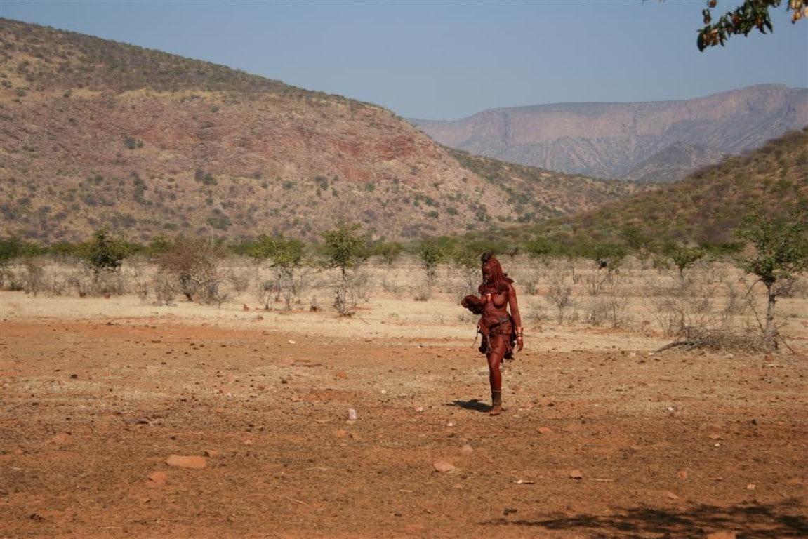 Individuele rondreizen Namibië - De Himba leven in het uiterste noorden van het land.
