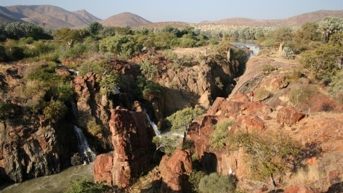 Epupa Falls - Uitzicht over het gebied
