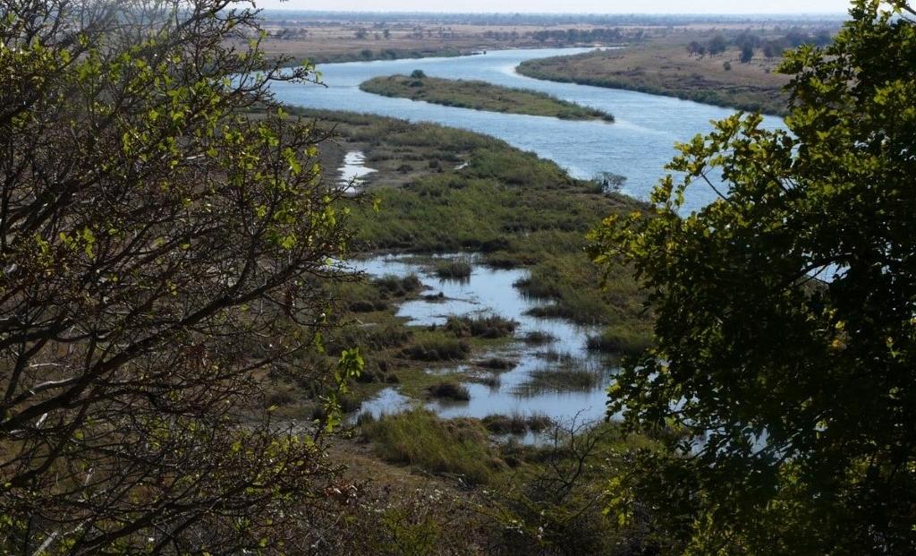 Epupa Falls - De rivier