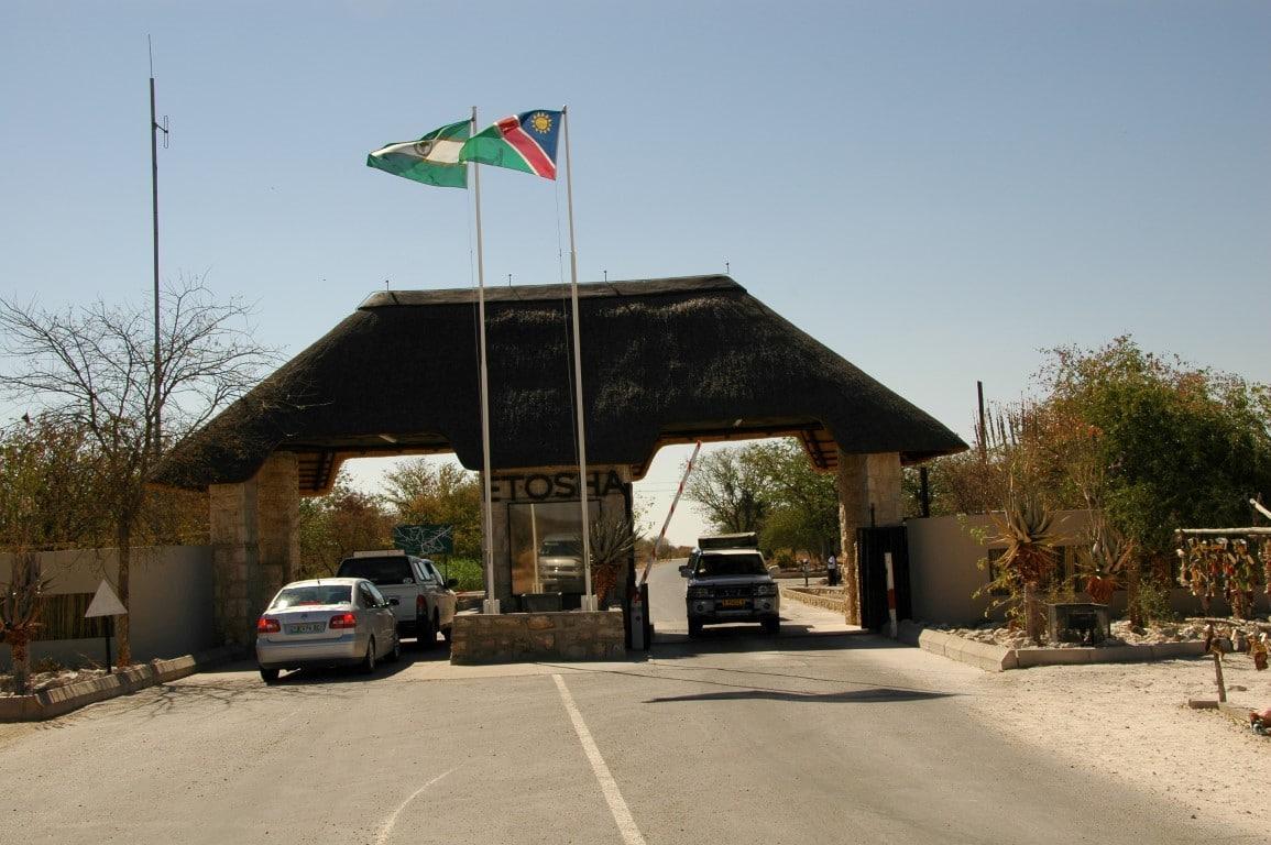 Etosha National Park - entree