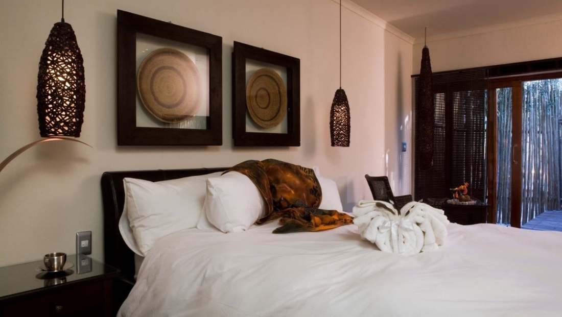 Etosha National Park - slaapkamer