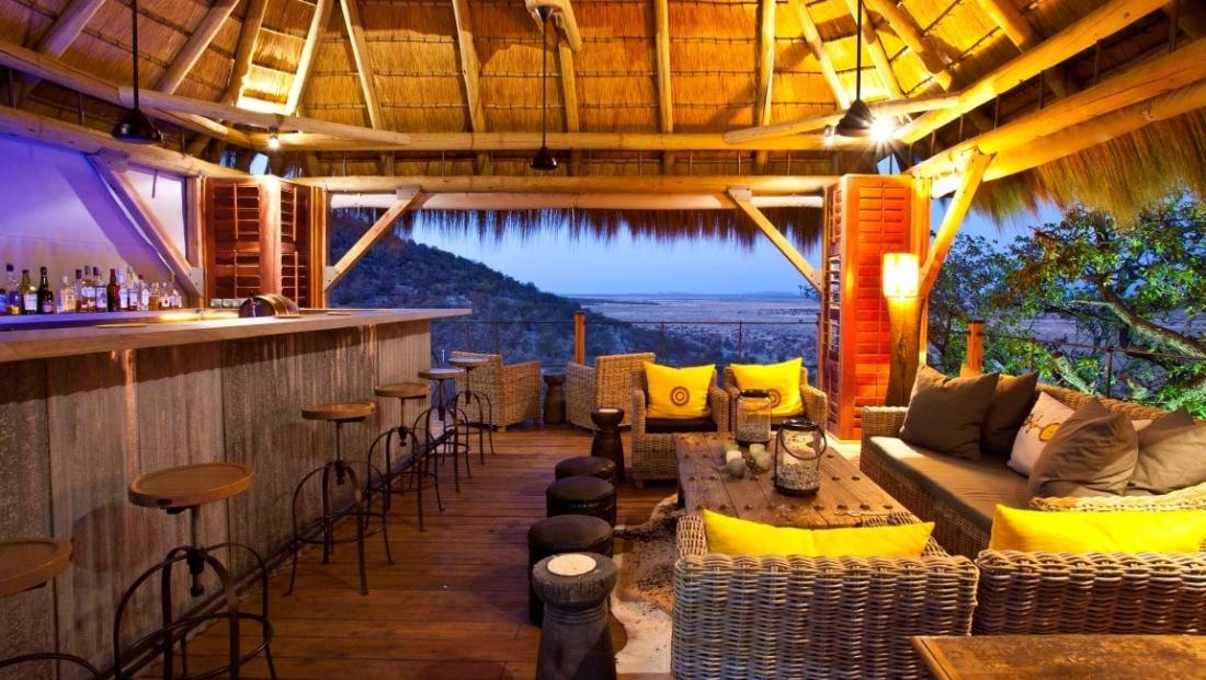 Etosha National Park - bar