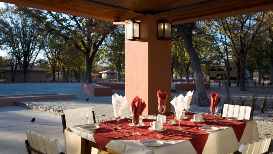 Etosha National Park - restaurant