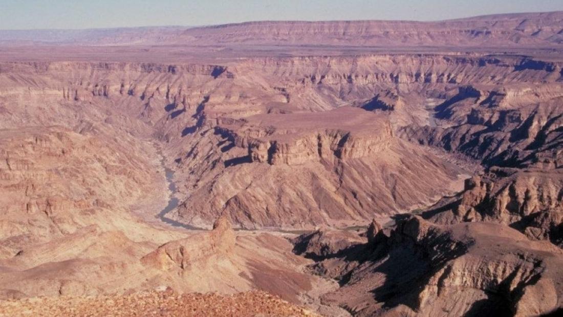 Fish River Canyon - landschap