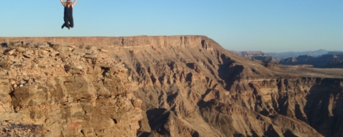 Fish River Canyon - landschap