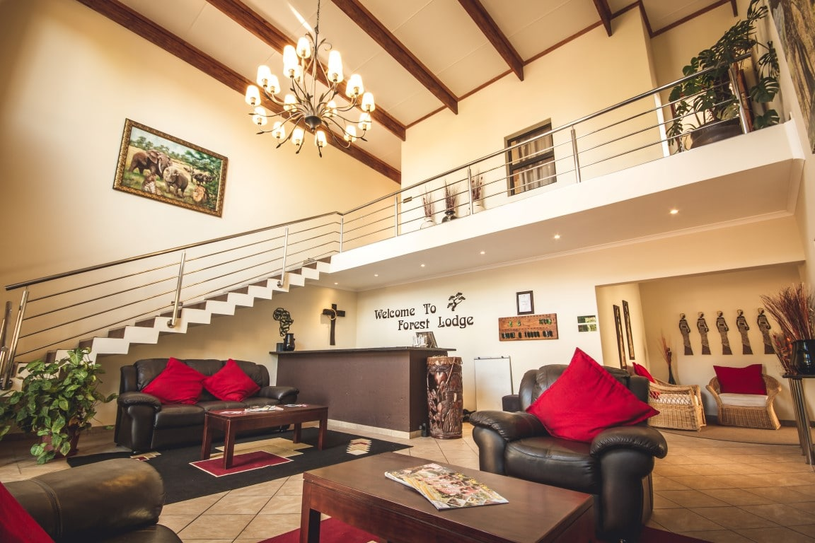Forest Lodge - receptie - lounge