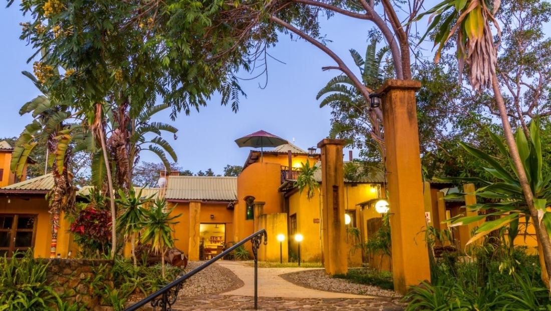 Gecko Lodge - entree