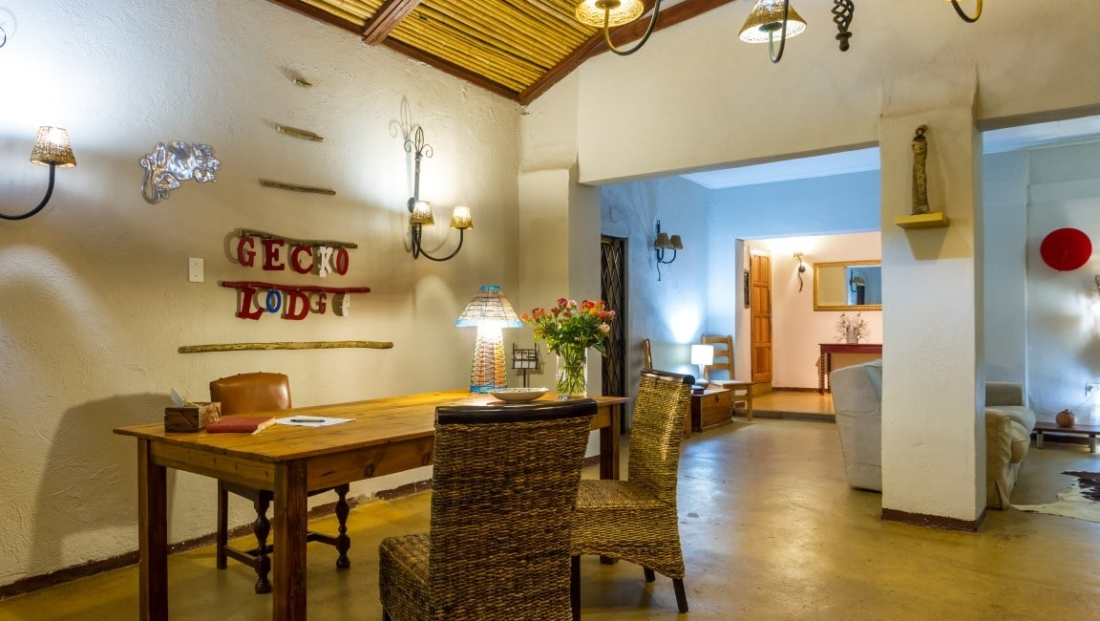 Gecko Lodge - receptie - lounge