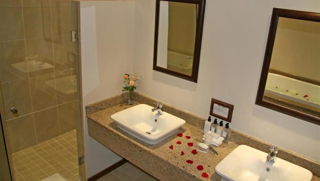 Glen Avon Lodge - badkamer