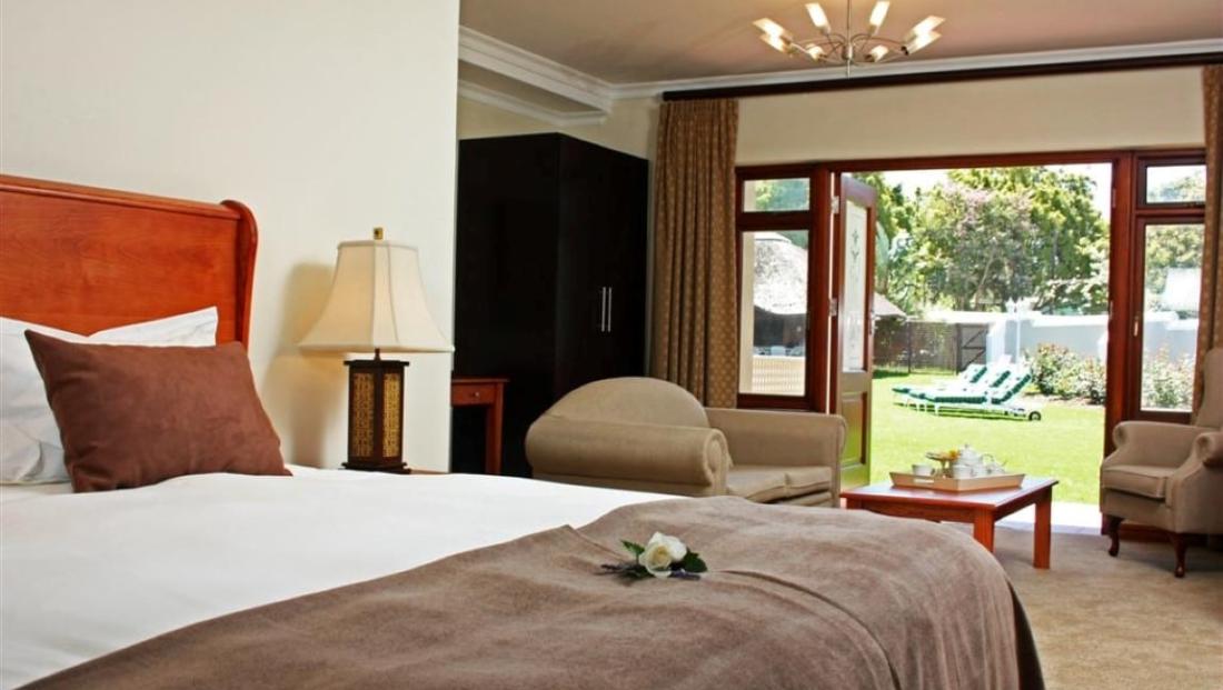 Glen Avon Lodge - slaapkamer
