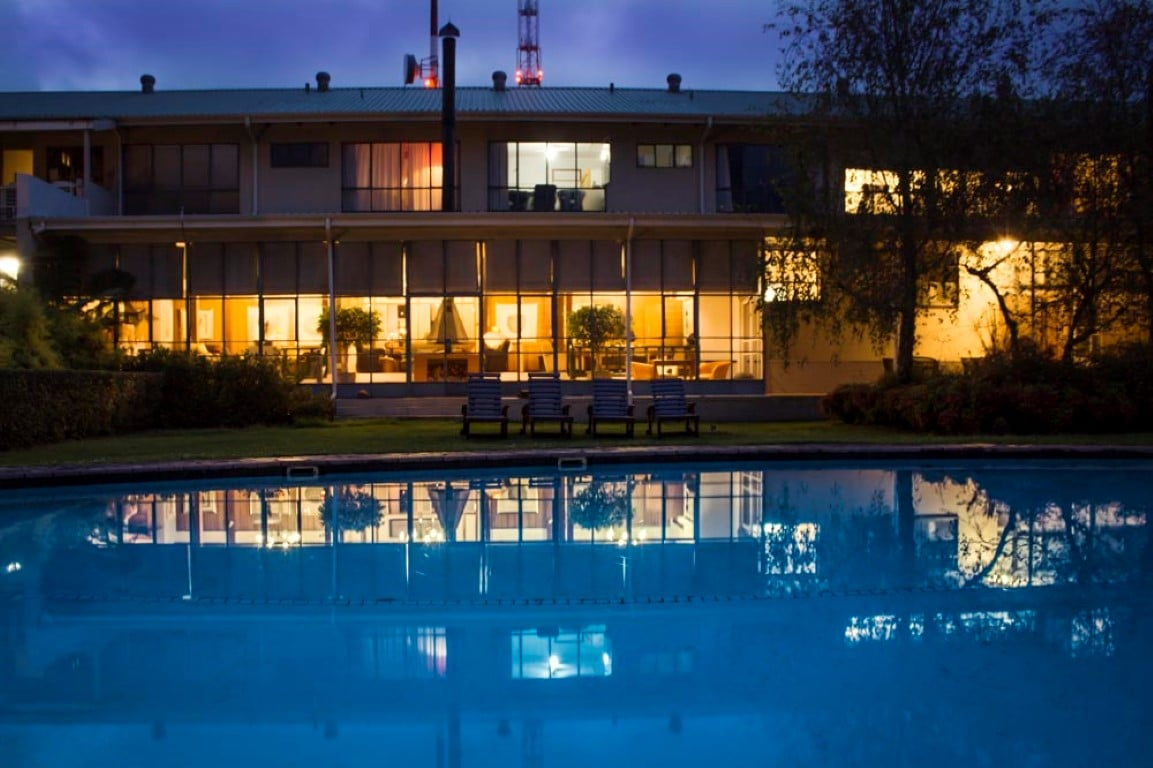 Graskop Hotel - zwembad