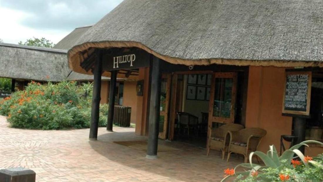 Hluhluwe-Imfolozi Hilltop Camp - entree