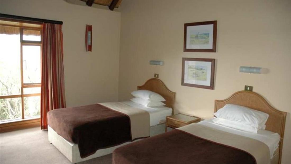 Hluhluwe-Imfolozi Hilltop Camp - slaapkamer
