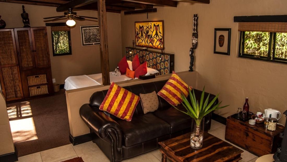 Hog Hollow Country Lodge - slaapkamer