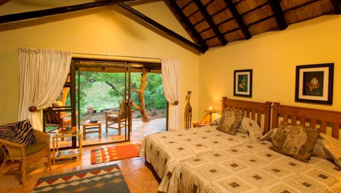 Iketla Lodge - slaapkamer